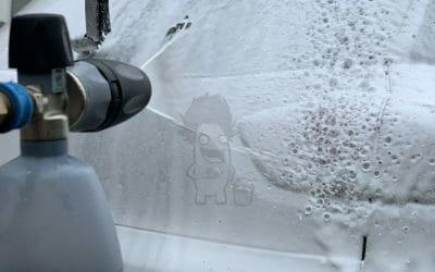 Skumvask til bil