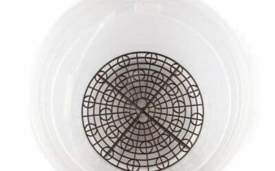 Vaskespand med rist